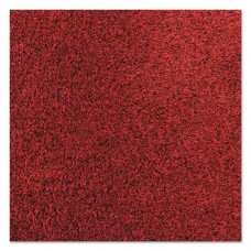 Rely-On Olefin Indoor Wiper Mat, 36 X 120, Red/black