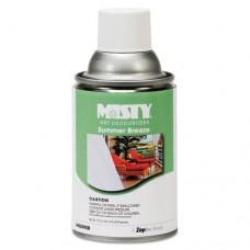 Metered Dry Deodorizer Refills, Summer Breeze, 7oz, Aerosol, 12/carton