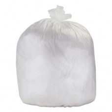 High-Density Can Liners, 24 X 33, 15-Gallon, 6 Micron, Clear, 1000/carton