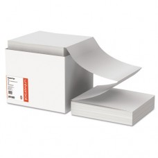 Computer Paper, 20lb, 9-1/2 X 11, Letter Trim Perforations, White, 2400 Sheets