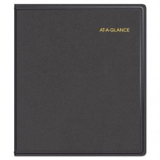 Refillable Multi-Year Monthly Planner, 9 X 11, White, 2017-2021