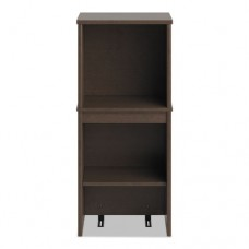 Envoy Series Narrow Hutch, 16w X 14 1/4d X 36 1/4h, Mocha Cherry