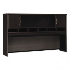 Series C Collection 72w Two-Door Hutch, Mocha Cherry