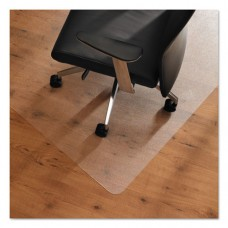 Cleartex Ultimat Anti-Slip Chair Mat For Hard Floors, 60 X 48, Clear