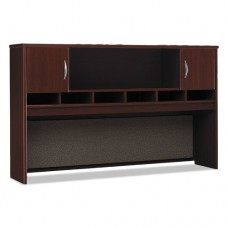 Series C Collection 72w Two-Door Hutch, Mahogany