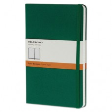 Hard Cover Notebook, Ruled, 8 1/4 X 5, Oxide Green Cover, 240 Sheets