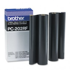 Pc202rf Thermal Transfer Refill Roll, Black, 2/pk