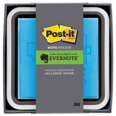 Note Dispenser With Premium One-Month Evernote Subscription, White