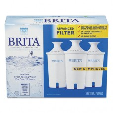 Water Filter Pitcher Advanced Replacement Filters, 24/carton