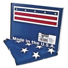 All-Weather Outdoor U.s. Flag, Heavyweight Nylon, 3 Ft X 5 Ft