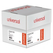 4-Part Carbonless Paper, 15lb, 9-1/2 X 11, Perforated, White, 900 Sheets