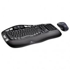 Mk550 Wireless Desktop Set, Keyboard/mouse, Usb, Black