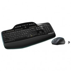 Mk710 Wireless Desktop Set, Keyboard/mouse, Usb, Black