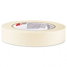 "Economy Masking Tape, .47"" X 60.1yds, 3"" Core, Tan, 5/box"