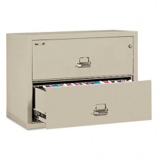 Two-Drawer Lateral File, 31-1/8w X 22-1/8d, Ul Listed 350, Ltr/legal, Parchment