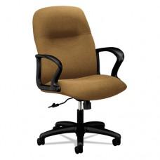 Gamut Series Managerial Mid-Back Swivel/tilt Chair, Caramel