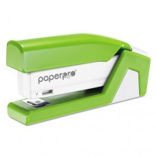 Injoy 20 Compact Stapler, 20-Sheet Capacity, Green