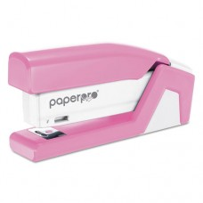 Incourage 20 Compact Stapler, 20-Sheet Capacity, Pink/white