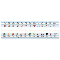 "Desk Nameplates, Alphabet, 9 1/2"" X 3"", 36/set"