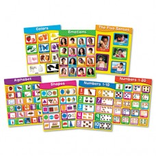 """Chartlet Set, Early Learning, 17"""" X 22"""", 1 Set"""