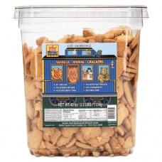 All Natural Animal Crackers, Vanilla, 40 Oz Tub