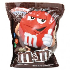 Milk Chocolate W/candy Coating, 56 Oz Bag