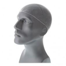 Lightweight Latex-Free Hairnets, White, 28 In., Nylon, 144/box