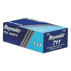 Pop-Up Interfolded Aluminum Foil Sheets, 9 X 10 3/4, Silver, 500/box