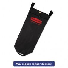 Fabric Cleaning Cart Bag, 26 Gal, Black, 17 1/2w X 10 1/2d X 33h