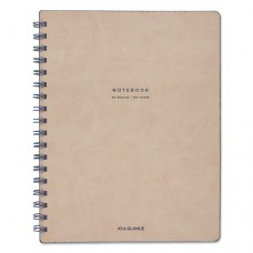 """Collection Twinwire Notebook, Legal, 7 1/4"""" X 9 1/2"""", Tan/navy Blue, 80 Sheets"""