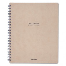 """Collection Twinwire Notebook, Legal, 8 3/4"""" X 11"""", Tan/navy Blue, 80 Sheets"""