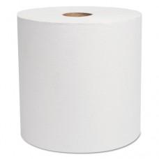 "Decor Hardwound Roll Towels, White, 7 7/8"" X 800', 6/carton"