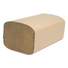 Decor Folded Towel, Singlefold, Natural, 9 1/8 X 10 1/4, 250/pack, 4000/carton