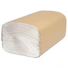Decor Folded Towel, Singlefold, White, 9 1/8 X 10 1/4, 250/pack, 4000/carton