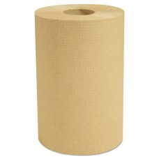 "Decor Hardwound Roll Towels, Natural, 7 7/8"" X 350', 12/carton"