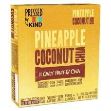 Pressed By Kind Bars, Pineapple Coconut Chia, 1.2 Oz Bar, 12/box