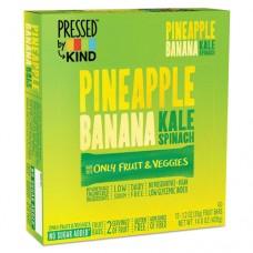 Pressed By Kind Bars, Pineapple Banana Kale Spinach, 1.2 Oz Bar, 12/box