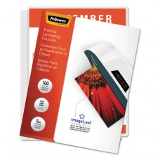 Imagelast Laminating Pouches With Uv Protection, 5mil, 11 1/2 X 9, 100/pack