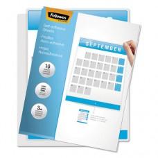 Self-Laminating Sheets, 3mil, 12 X 9 1/4, 50/box