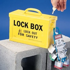 GROUP LOCK BOX YELLOW