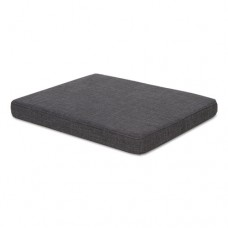 Seat Cushion For File Pedestals, 14 7/8 X 19 1/8 X 2 1/8, Smoke