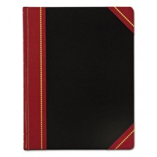Record Ledger Book, Black Cover, 300 7 3/4 X 10 1/8 Pages