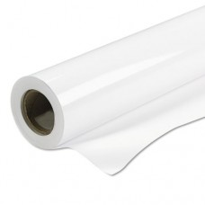 """Production Removable Vinyl, Glossy, 6 Mil, 50"""" X 60 Ft Roll, White"""