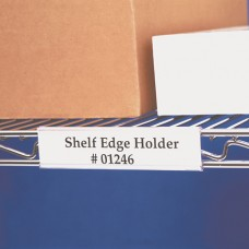 "3"" x 1 5/16"" Wire-Rac™ Snap-On Label Holders"