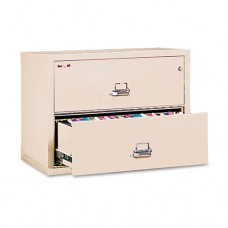 Two-Drawer Lateral File, 37-1/2w X 22-1/8d, Ul Listed 350, Ltr/legal, Parchment