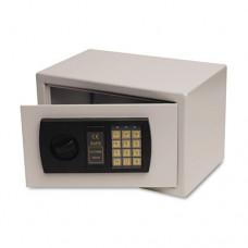 Personal Safe, 0.3 Ft3, 12-1/4w X 7-3/4d X 7-3/4h, Light Gray
