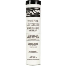 White Lithium Grease w/PTFE, 14 oz, Can