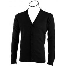 V-neck Button Cardigan