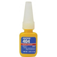 404 Quick Set Instant Adhesive, 0.333 oz, Bottle, Clear
