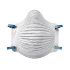 Airwave N95 Disposable Respirator with Latex Two-Strap, M/L, Nose Flange, 10/Box